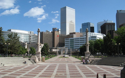Downtown Denver Filming Location in Colorado