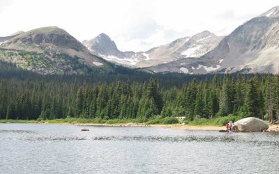 Colorado Mountain Location Photograph