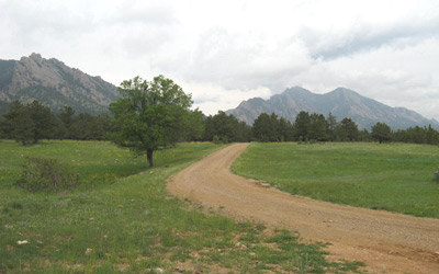 Colorado Dirt Road Photograph Filming Location